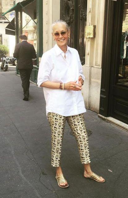 Moda Outono: mulher 50+, use e abuse da camisa branca! - Viva 50 por Maria Celia e Virginia Pinheiro