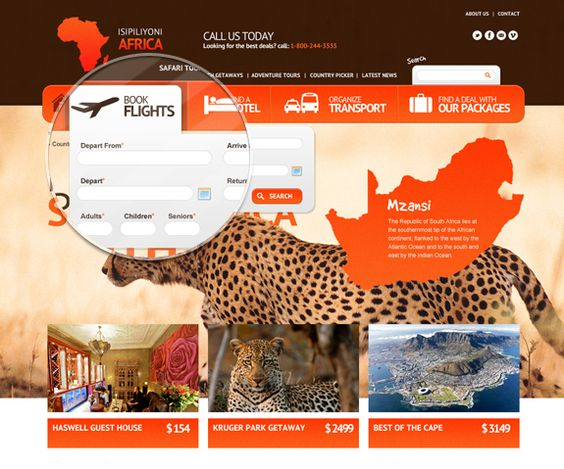 Isipiliyoni Africa by Brad Harris, via Behance