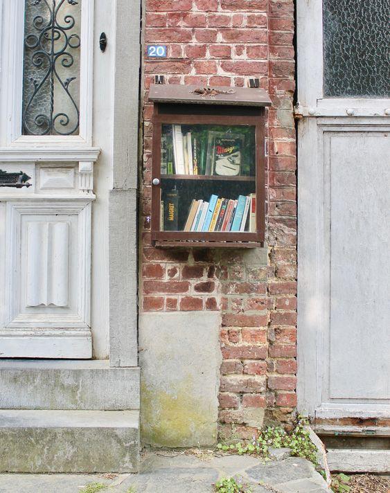 Boite à livres Chaumont-Gistoux
