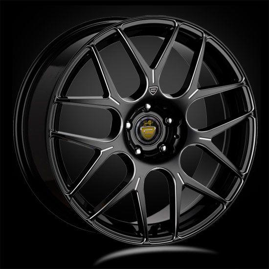 20 CADES BERN GUNMETAL ACCENT T5  alloy wheels for 5 studs wheel fitment in 8.5x20 rim size