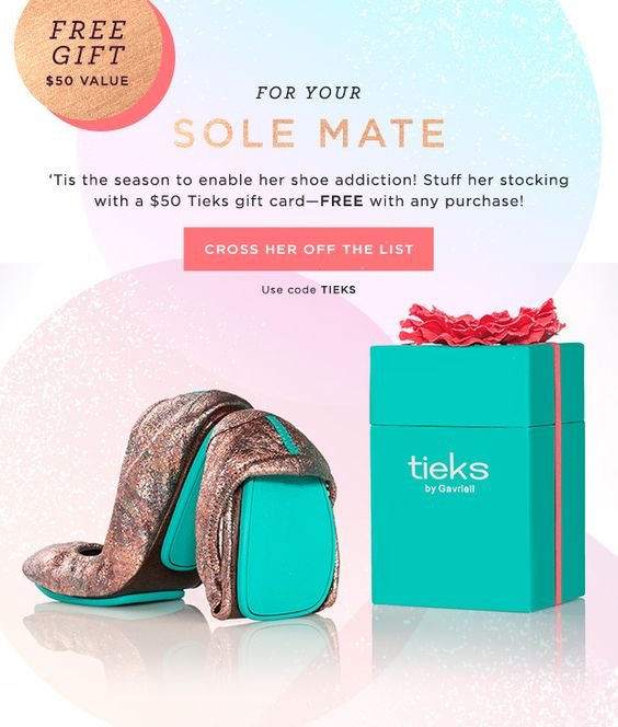 Bits and Boxes: Julep FREE $50 Tieks Gift Card with ANY Purchase! #julep #tieks #nailpolish #couponcode
