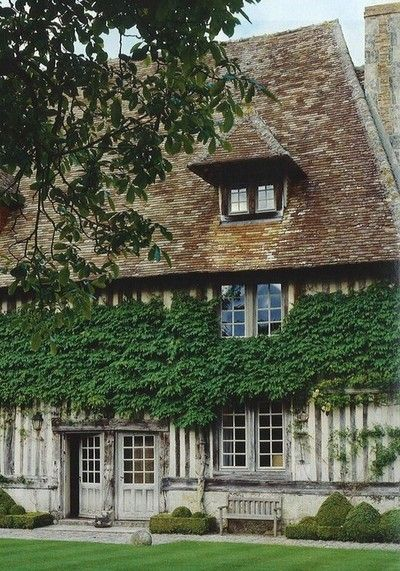 Ivy, Vines and Normandy on Pinterest