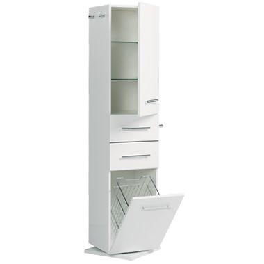 Quadro Revolving Tallboy   Bathroom Cabinets  u0026amp  Vanities. 300mm Wide Tall Bathroom Cabinet   Rukinet com
