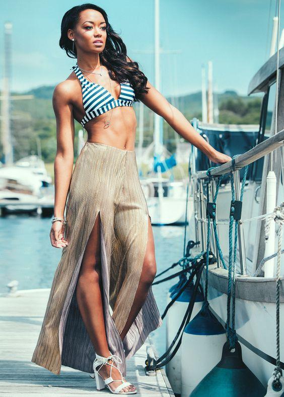 Glamorous Fashion Shoot at Portavadie Marina