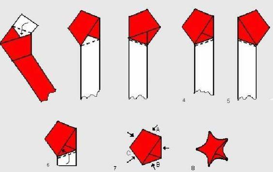 como fazer origami de papel facil - Pesquisa Google