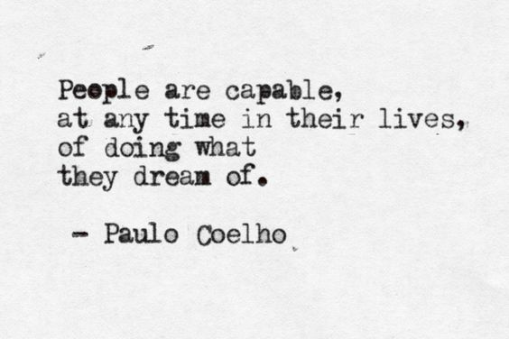 dream it. do it.