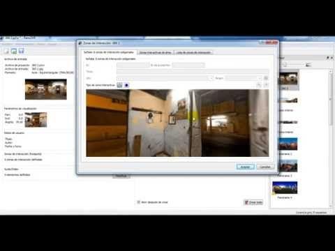 Crear Recorridos Virtuales 360 Grados Con Pano2vr Doarsal Youtube Recorrido Virtual Fotografía 360 360 Grados