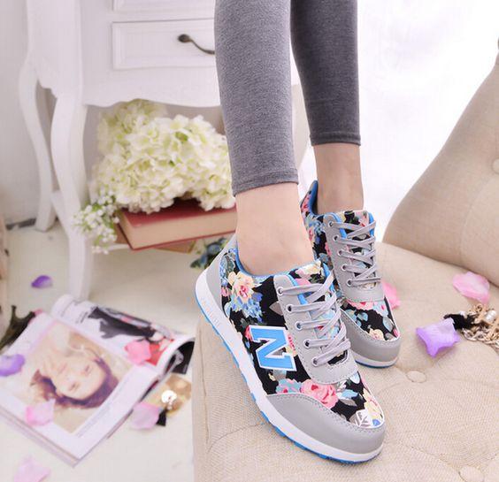Encontrar Más Moda Mujer Sneakers Información acerca de 2015 primavera zapatillas de correr tendencia de moda calzado deportivos estampado zapatos para ayudar a bajo movimiento estudiantil, alta calidad galería de zapatos, China pegamento de zapatos Proveedores, barato flop zapato chico tirón de HengHua classic 2.0 shoes  en Aliexpress.com