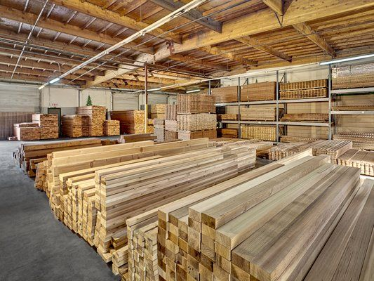 ~Redwood and other building materials~