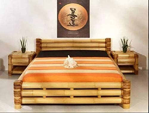 Wow Gorgeous Use Of Bamboo As The Focus Of A Bedroom Luxury