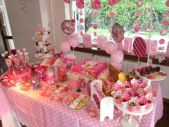 Decoracion mesas cumplea os infantil buscar con google for Decoracion mesas dulces