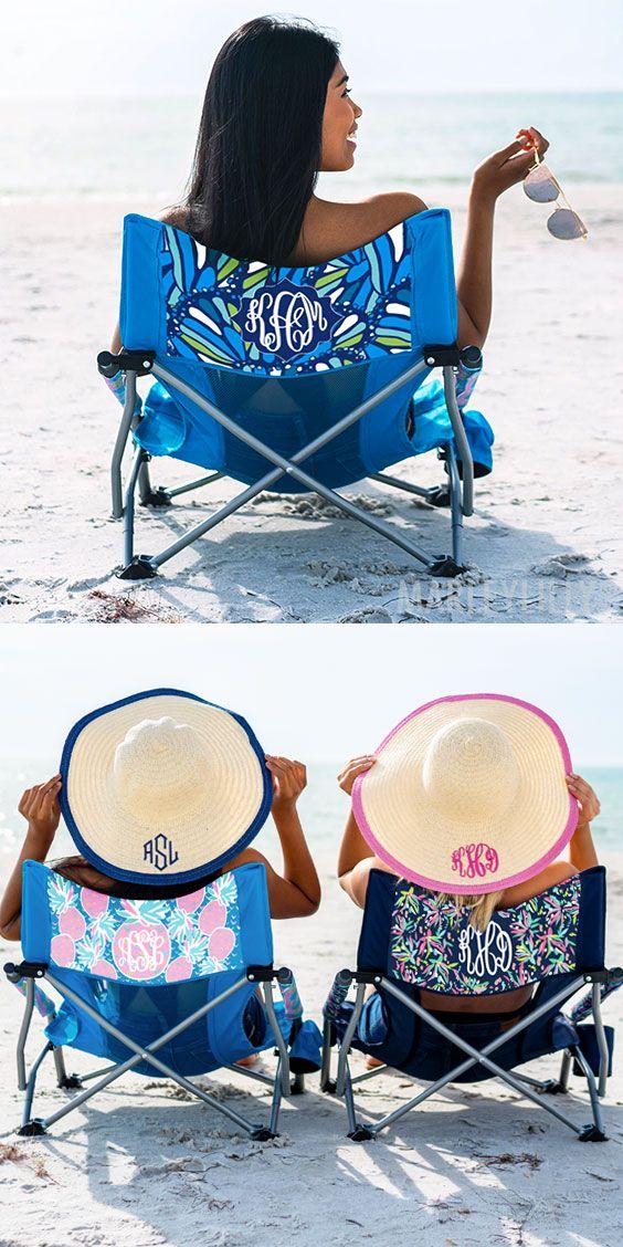 Monogrammed Beach Chair Beach Chairs Monogram Beach