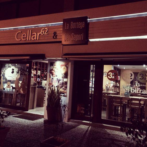 Cellar & Bottega by night!