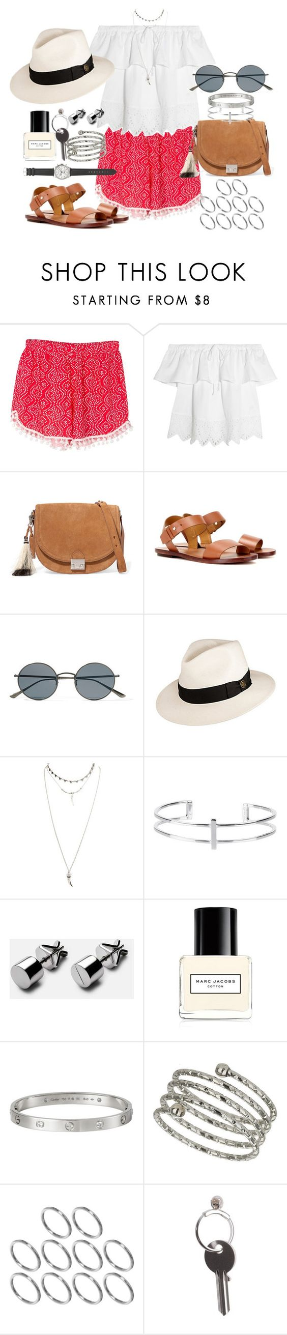 """""""Make it work"""" by marissa-91 ❤ liked on Polyvore featuring Madewell, Loeffler Randall, Polo Ralph Lauren, Oliver Peoples, Goorin, Wet Seal, Marc Jacobs, Cartier, Topshop and ASOS"""