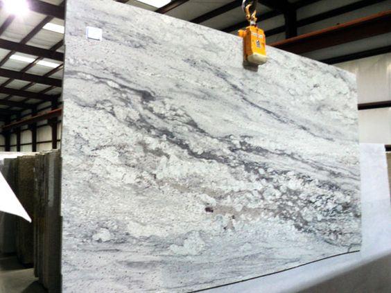 Pretoria White Granite Slab 65