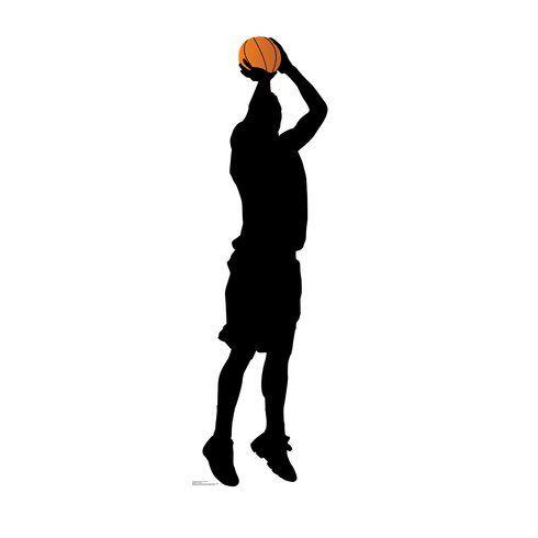 Advanced Graphics Basketball Player Shooting Silhouette Standup Wayfair