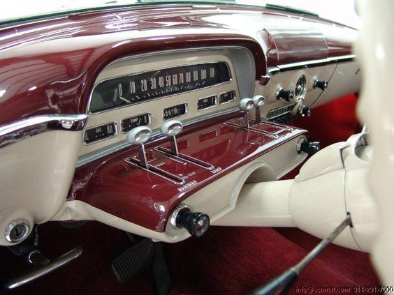 1954 Mercury Monterey 2-door instrument cluster