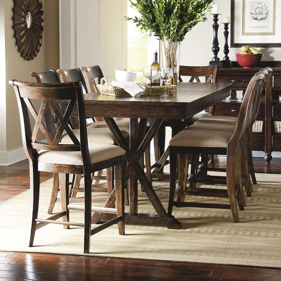 Italian Kitchen Pennsville: Thatcher 9 Piece Pub Dining Set By Legacy Classic