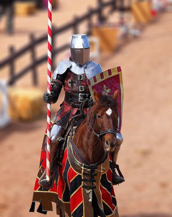 Chevalier - Jousting Horseback Knight