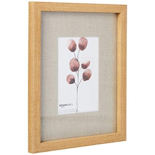 Amazonbasics Gallery Wall Frame 9 X 11 For 5 X 7 Display Natural 3 Pack Frames On Wall