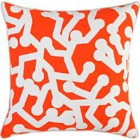 "CB2 PILLOW ska 18"" pillow"