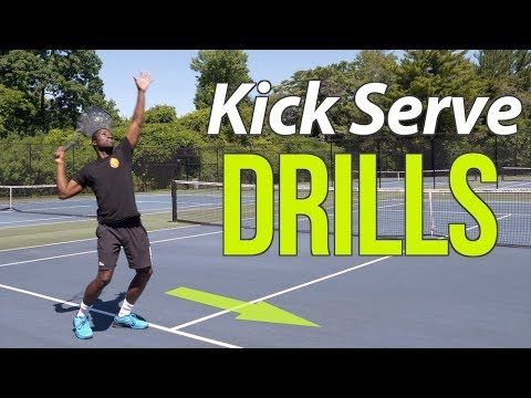 Ready To Finally Develop A Kick Serve You Re About To Learn How This Special Lesson Features Step By Step Drill P With Images How To Play Tennis Tennis Lessons Tennis