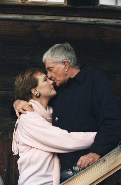 Julie Andrews/Blake Edwards- were married for 41 years. He passed away in 2010