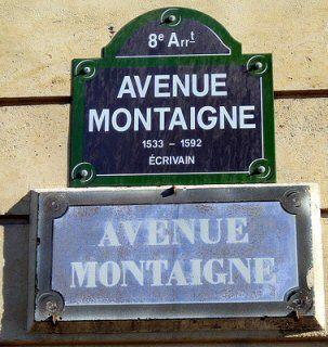 avenue Montaigne - Paris 8ème