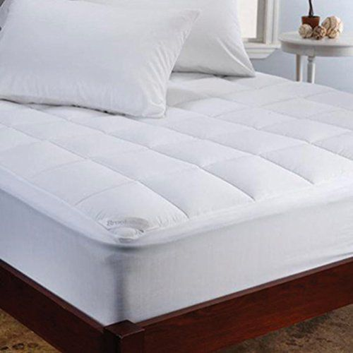 Brookstone Climasure Performance Mattress Pad King White You Can Get More Details By Clicking On The Image This Is Mattress Mattress Sizes Best Mattress