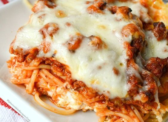 Million Dollar Baked Spaghetti Recipe