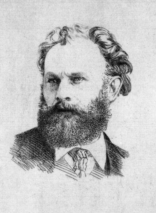 Félix Bracquemond  Portrait of Manet (1867)