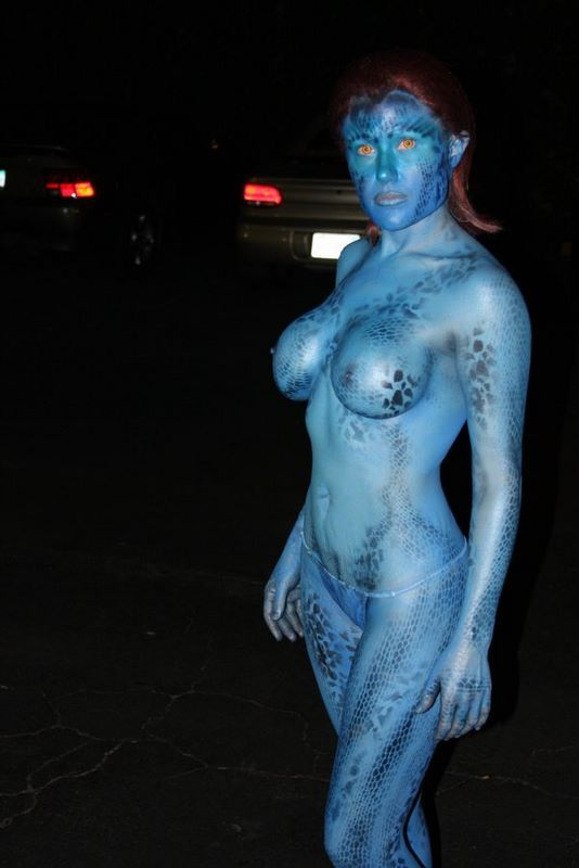 cosplay nude girl Avatar