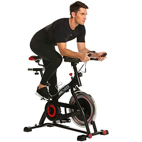 Ancheer Indoor Cycling Bike Belt Drive Indoor Exercise B Https