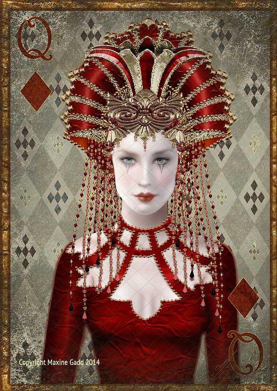 Jesters Maxine Gadd published fairy fantasy artist ...