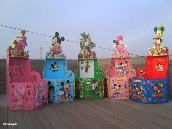 Cajas para regalos de cumpleaños infantiles - Imagui | Andrea ...