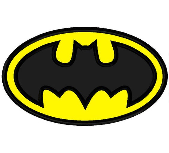 Super Hero Bat Man Embroidery Applique Design 4x4 5x7 6x10 Batman INSTANT DOWNLOAD