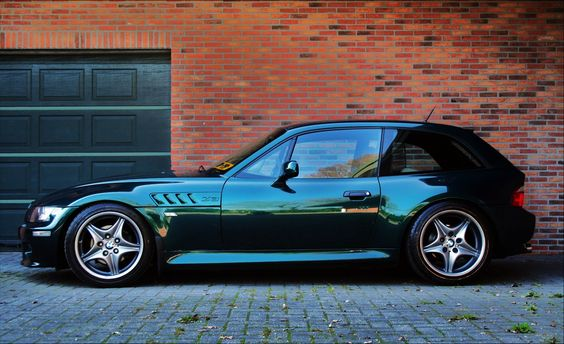 Bmw Z3 Coupe oxford green