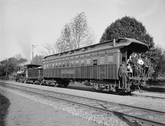 "robertpiers: ""Delaware, Lackawanna and Western Railroad Detroit Photographic…"