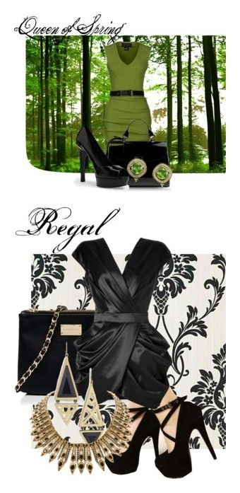 """Evil Regal Fashion"" by aurimynonys13 ❤ liked on Polyvore featuring La Petite S*****, Marc Jacobs, MANGO, Buccellati, Forever New, Balmain and House of Harlow 1960"