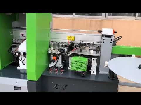 Newly Produced Edge Banding Machine S800f With Customized Color Design Youtube In 2020 Edges Design Machine