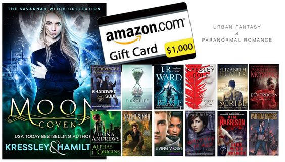 $1000 #Giveaway for #UrbanFantasy and #ParanormalRomance fans! #amreading: