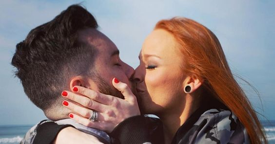 'Teen Mom OG' star Maci Bookout got engaged to her longtime love, Taylor McKinney — see the diamond ring!