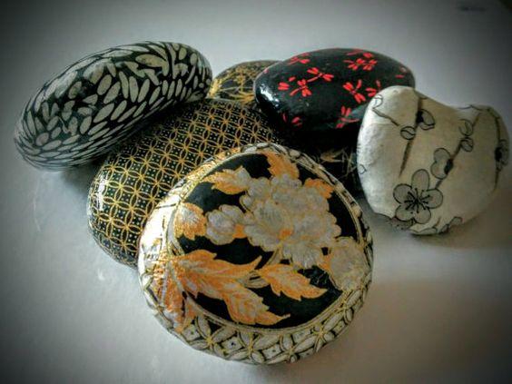 """PAPEL y ROCK crean arte con el arte Japon de """"Kira Ishi"""" (significa brillante…"""