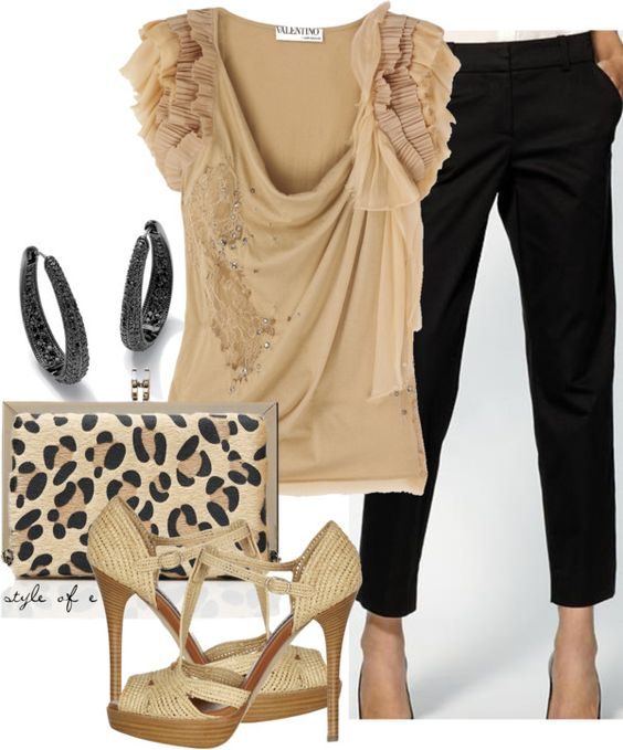 """""""Feminine Top"""" by styleofe on Polyvore"""