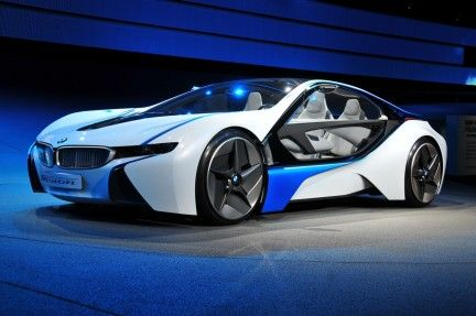 bmw i8 can't really help but drool a little.