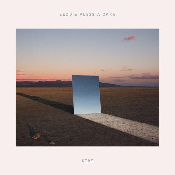 Zedd, Alessia Cara – Stay (single cover art)