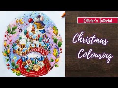 The Final Touch Rita Berman Coloring Technique Youtube Coloring Books Christmas Colors Colouring Techniques