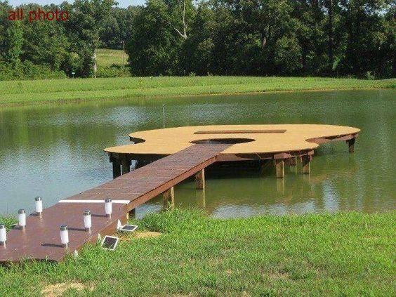 Guitar dock