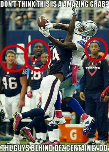 Dez Bryant is a beast. Texans agree ^^