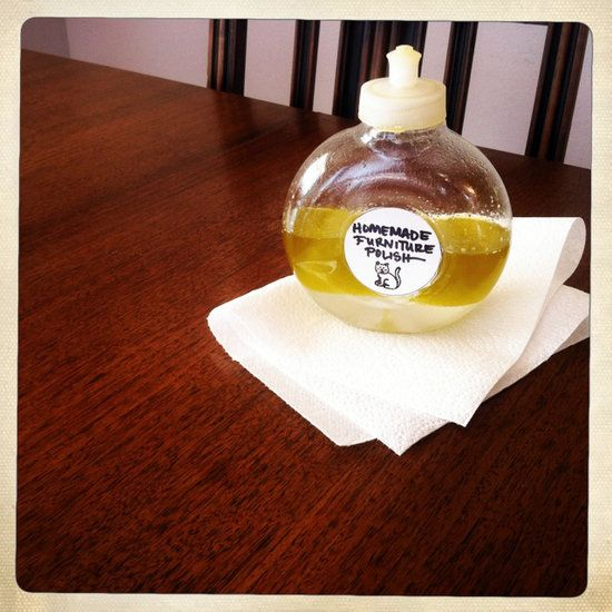Let it shine homemade furniture polish for Homemade furniture polish olive oil vinegar